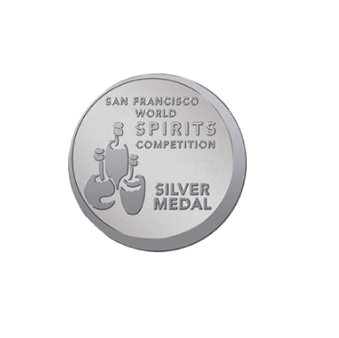 San Francisco World Spirits Competition Silver Medal