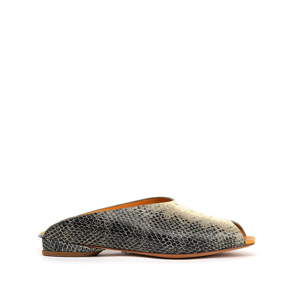 Shell Mule Lo - Ivory