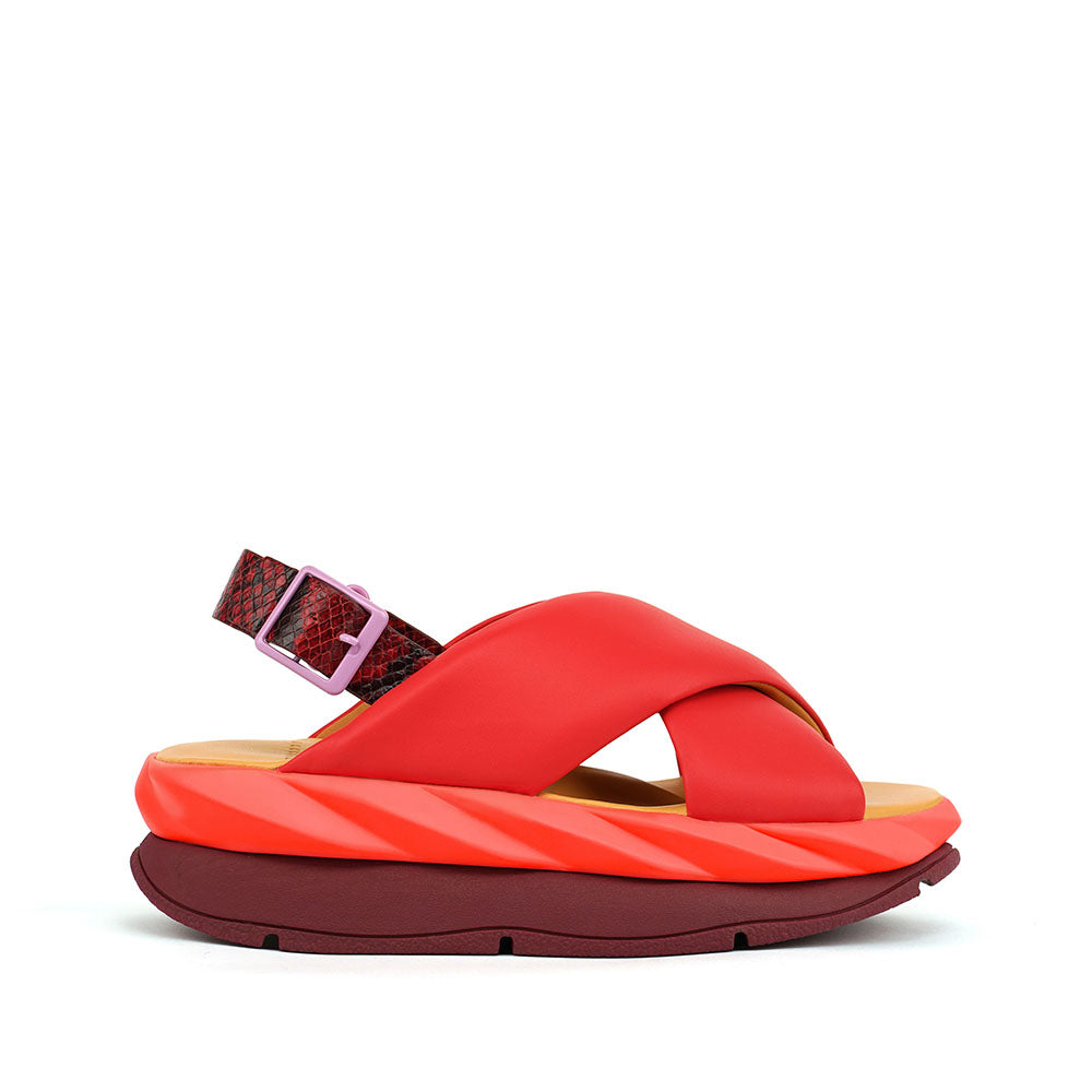 Mellow Sandal - Red
