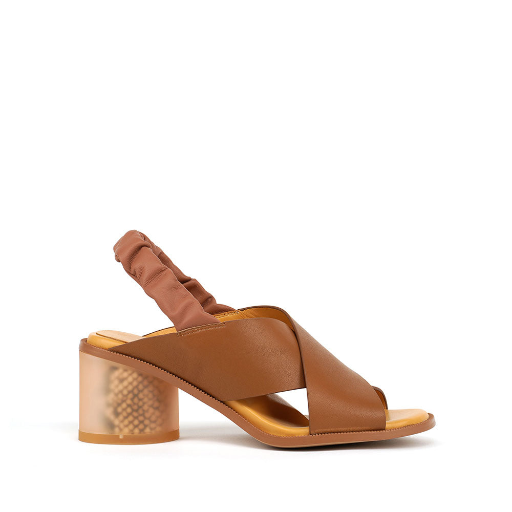 Fog Cross Sandal - Tan