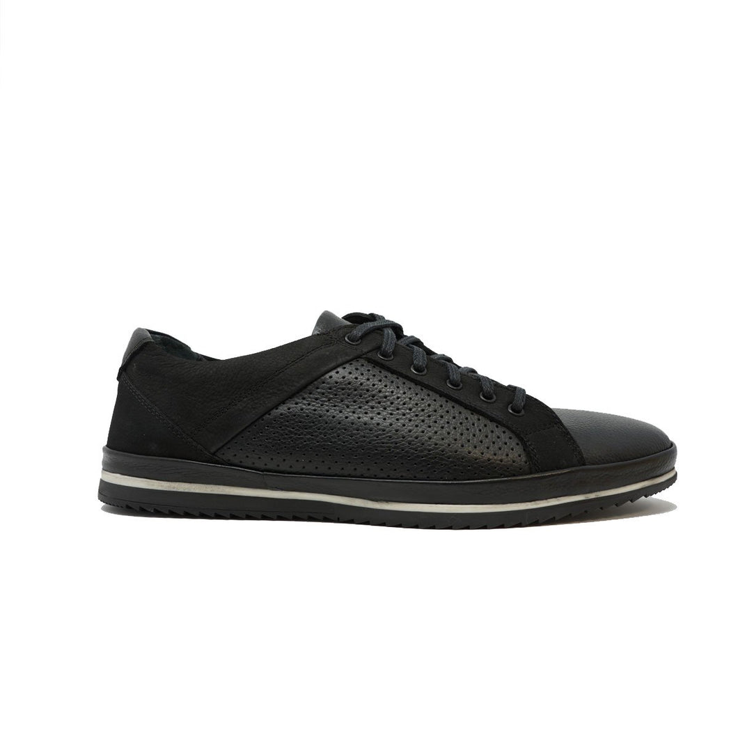 Zeus Leather Casual Men's Sneakers by Paul Branco