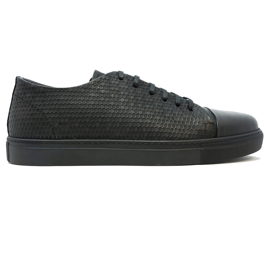 Hypnos Leather Casual Men's Sneakers by Paul Branco