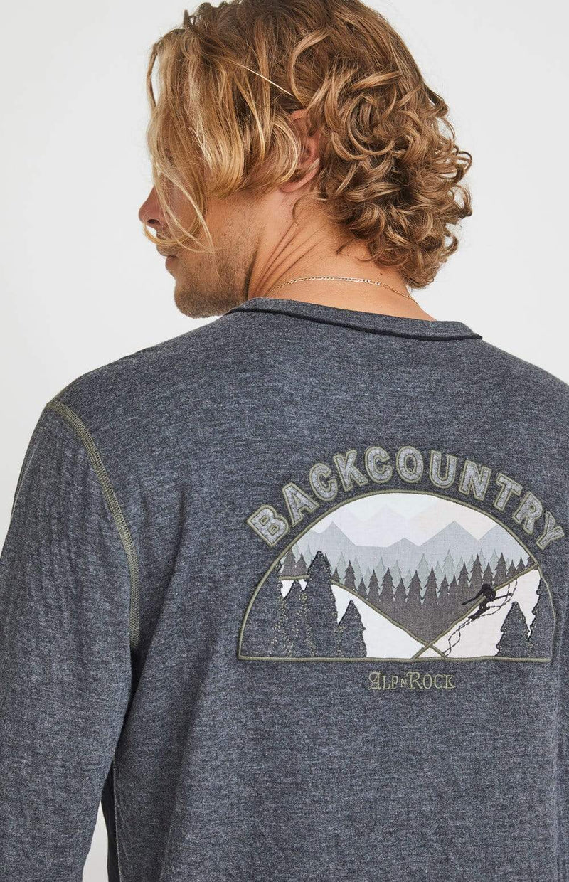 Alp-n-Rock Mens Crew Shirt Back Country Crew