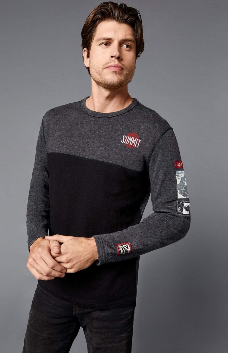 Alp-n-Rock Mens Crew Shirt Blackcomb Crew