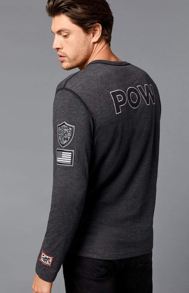 Alp-n-Rock Mens Crew Shirt Powder Crew