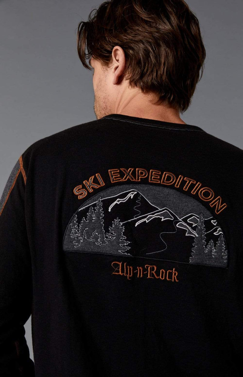Alp-n-Rock Mens Crew Shirt Ski Expedition Crew