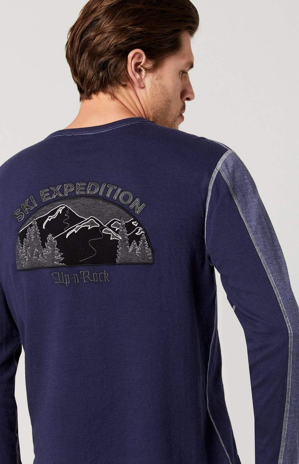 Alp-n-Rock Mens Crew Shirt Vail Ski Expedition Crew