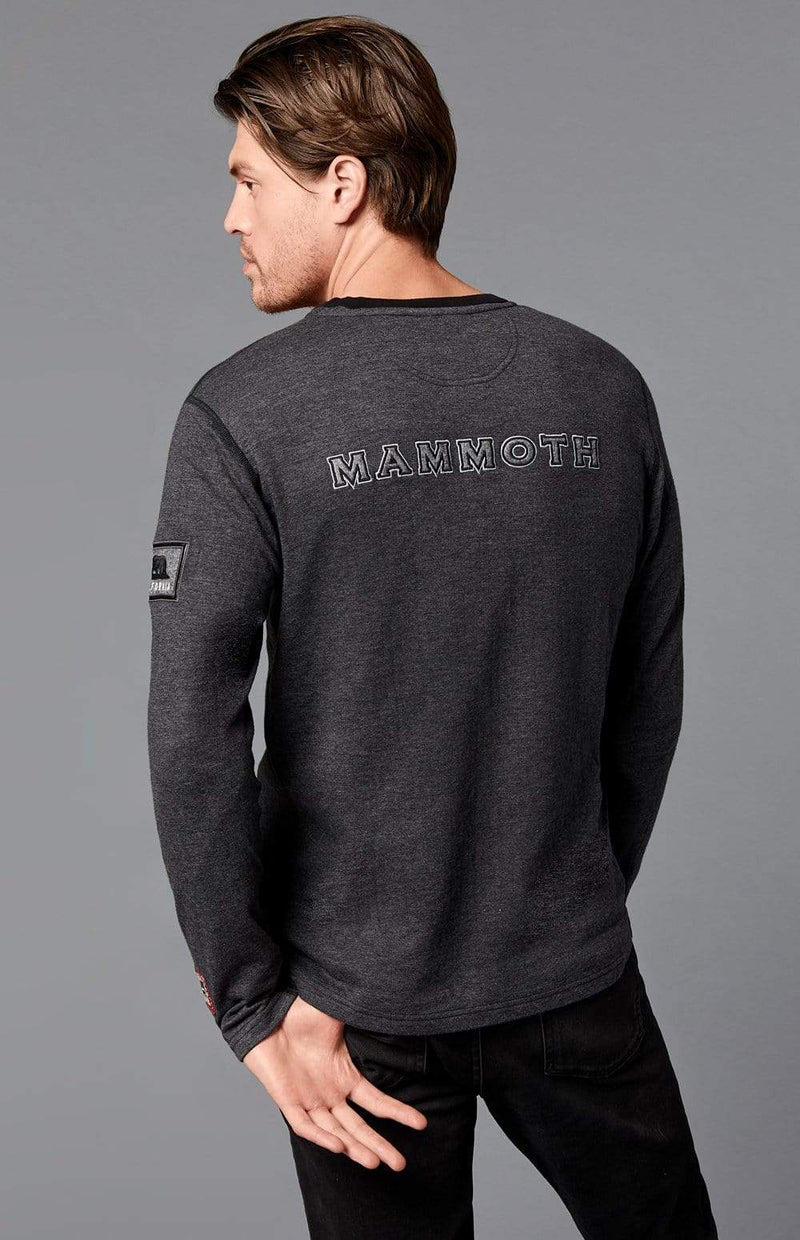Alp-n-Rock Mens Henley Shirt Mammoth Henley