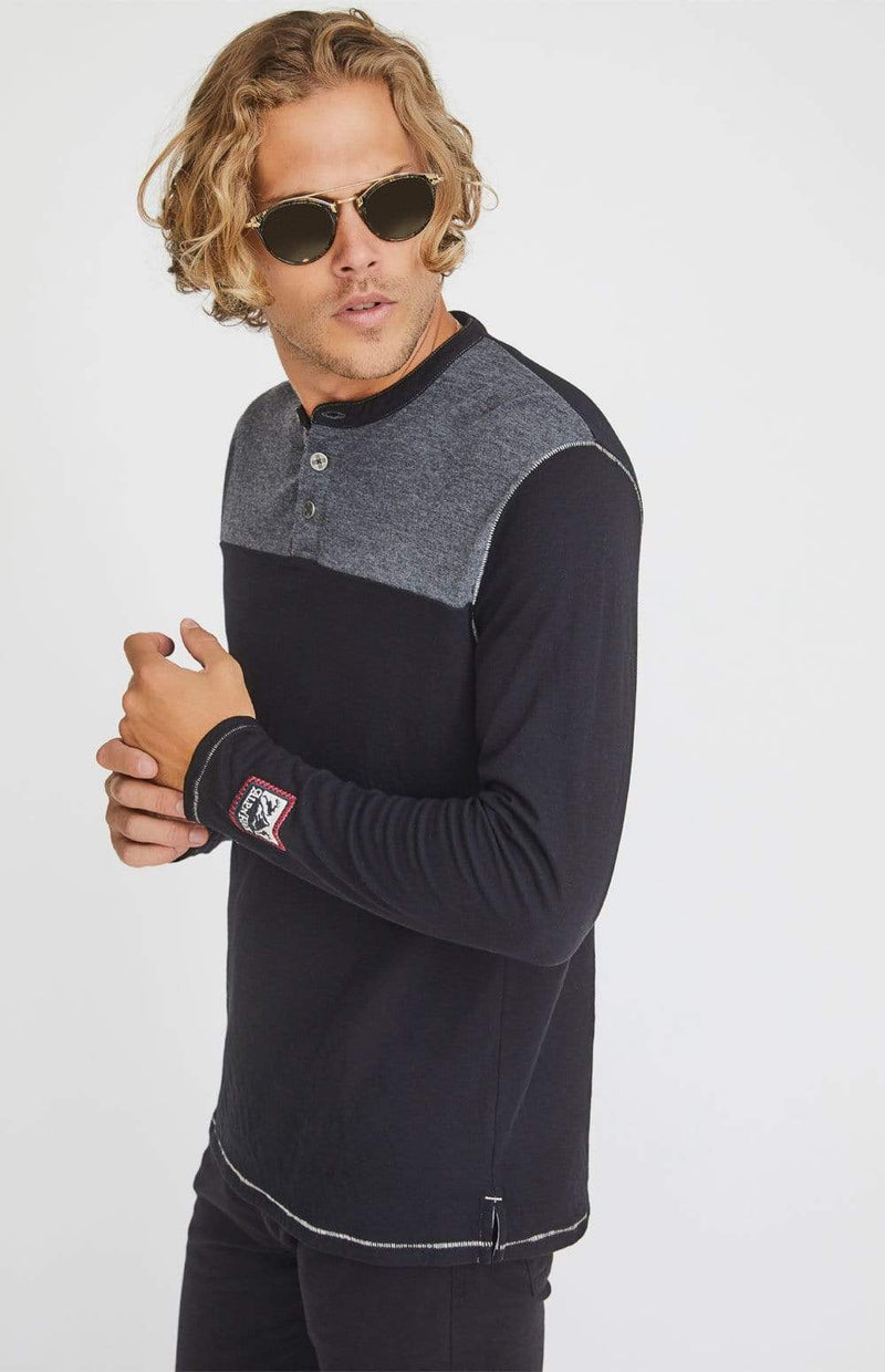 Alp-n-Rock Mens Henley Shirt Off Piste Henley