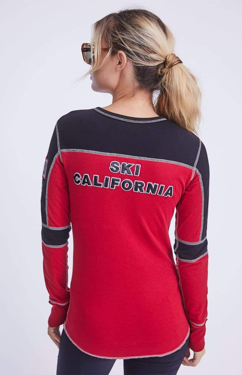 Alp-n-Rock Womens Crew Shirt Ski California Crew
