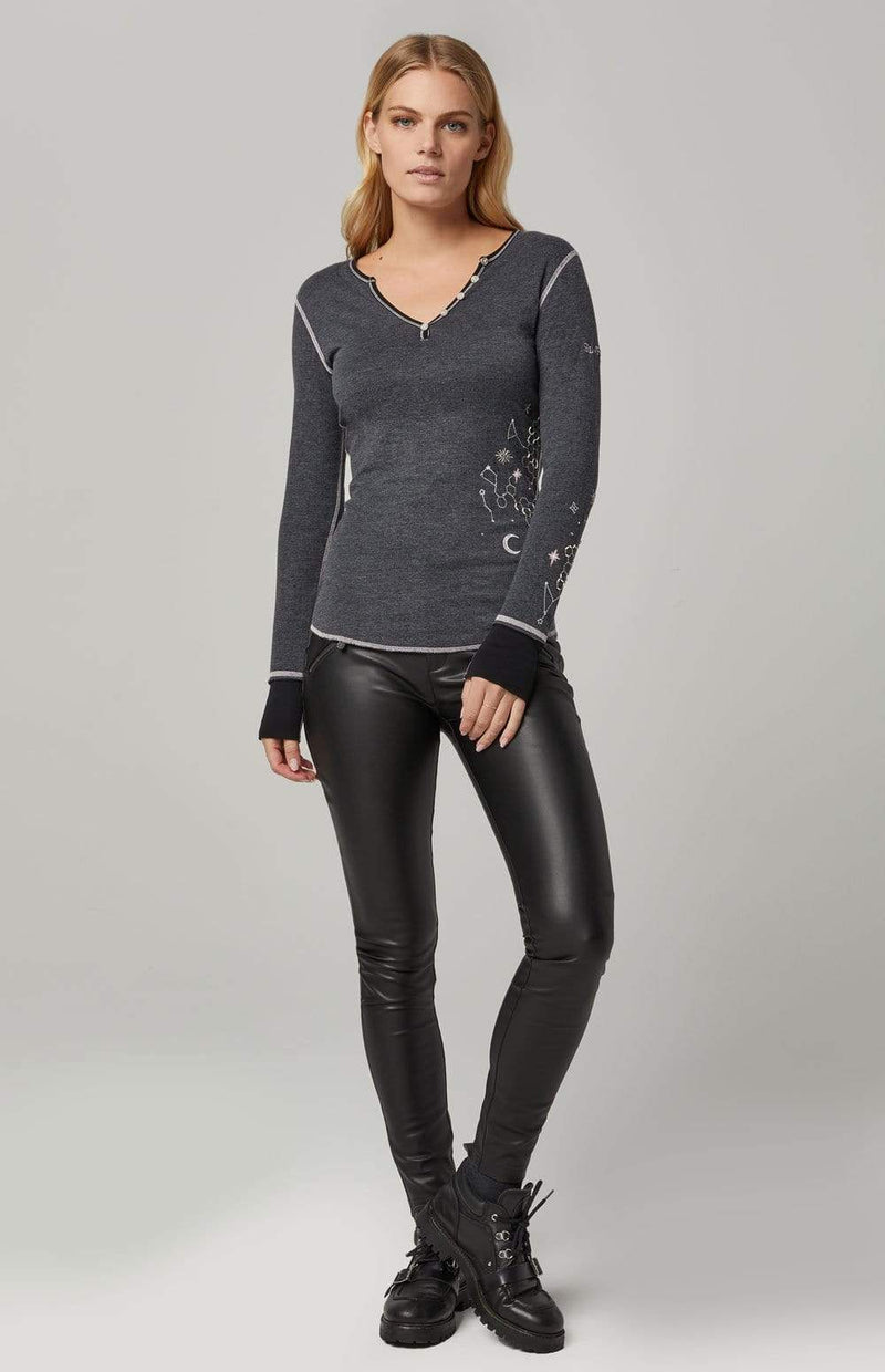 Alp-n-Rock Womens Henley Shirt Asteria Henley