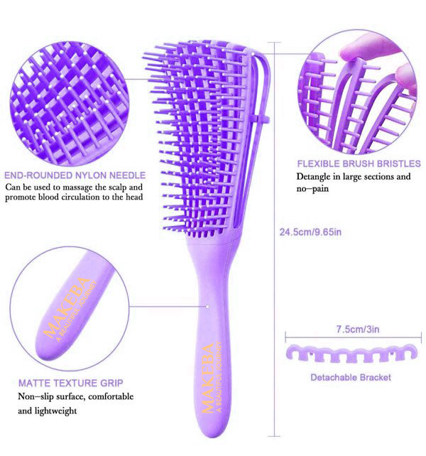 Makeba Signature Detangling Brush