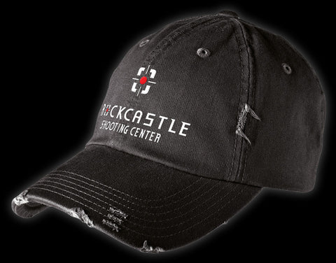 District Distressed Cap - Black - DT600