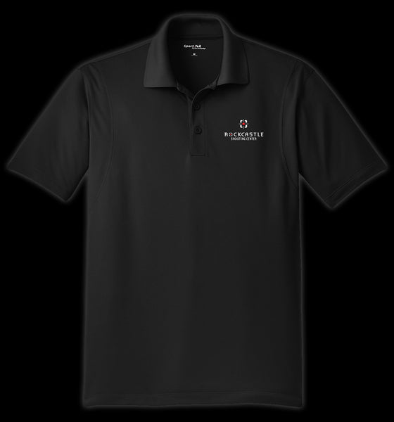 ST650 -  Micropique Performance Polo - Black