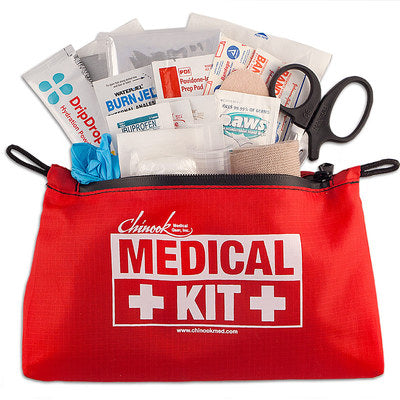 First aid kit for ten essentials chinook medical