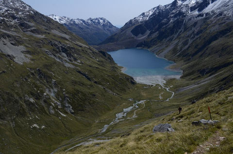Tramping Waiau Pass New Zealand