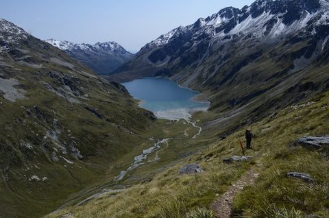Te Araroa Trail in New Zealand, photograph by Margaret Hedderman