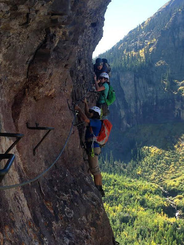 the telluride via ferrata