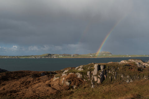 View of Iona Scotland