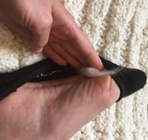 How to prevent blisters on forefoot. How to prevent blisters on bottom of foot.
