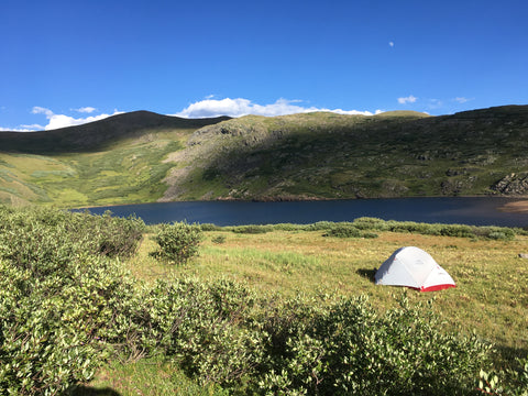 Camping near Highland Mary Lakes Colorado