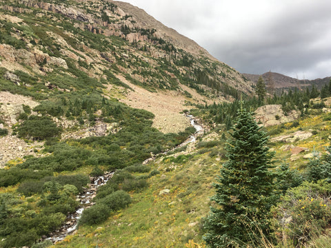 Hiking the Johnson Creek Trail in the Weminuche Wilderness