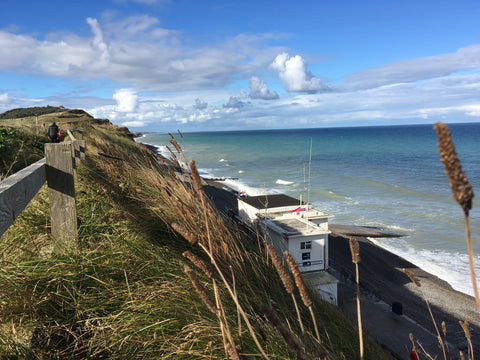 Hiking the Norfolk Coast Path in Sheringham England