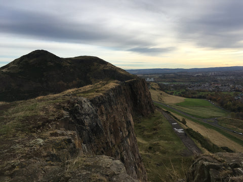 Salisbury Crags Edinburgh Scotland