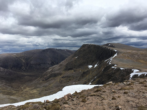 The Braeriach and Cairn Toul Traverse Scotland