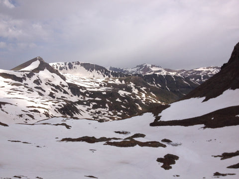 American Basin in Southwest Colorado, Handies Peak 14er