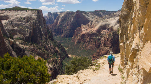 What to pack for a desert hiking trip in Zion National Park