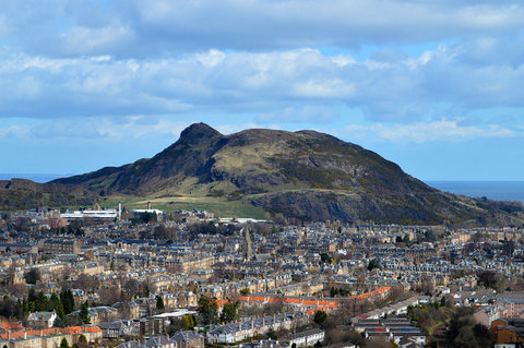 Walking Arthur's Seat in Edinburgh
