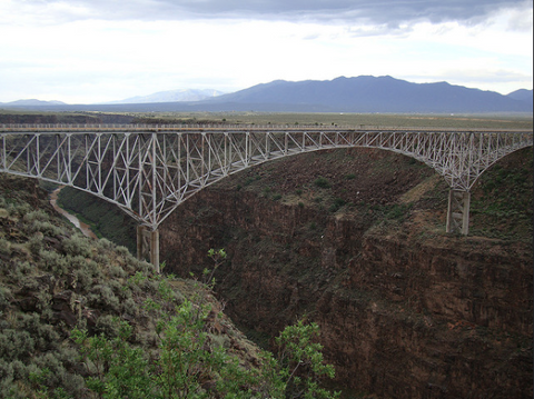 Rio Grand Gorge Bridge things to do in Taos New Mexico