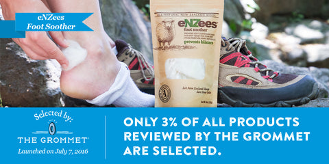 eNZees Foot Soother launches on The Grommet