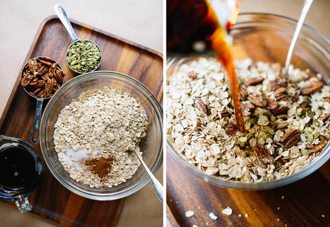 Homemade Granola by Cookie + Kate