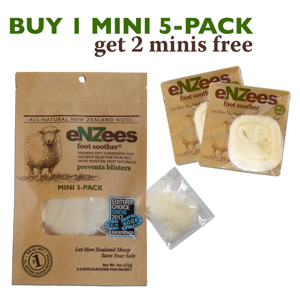 Buy 1 Mini 5-Pack, Get 2 Minis FREE