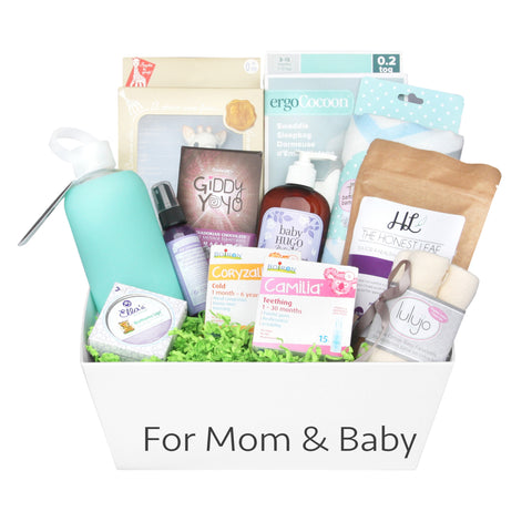 New Mom & Baby Gift Baskets