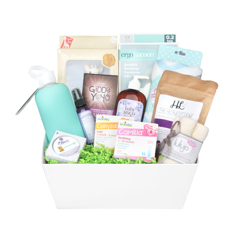 Gift baskets toronto healthy gifts snacks corporate personal new mom baby basket negle Image collections