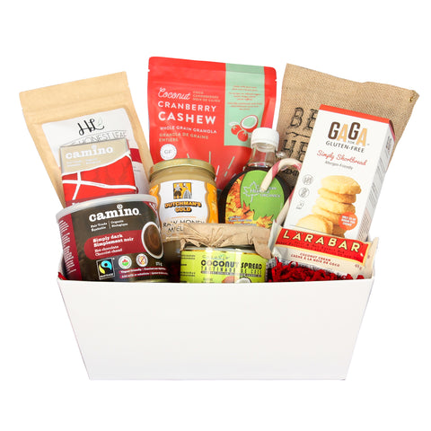 Gift baskets toronto healthy gifts snacks corporate personal holiday breakfast basket negle Image collections