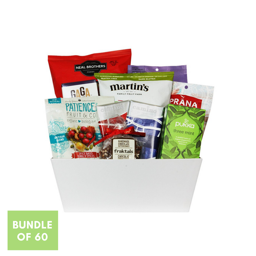 Holiday Goodness Basket Bundle (QTY. 60)