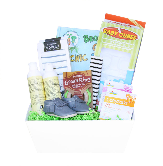 Healthy New Baby Gift Baskets