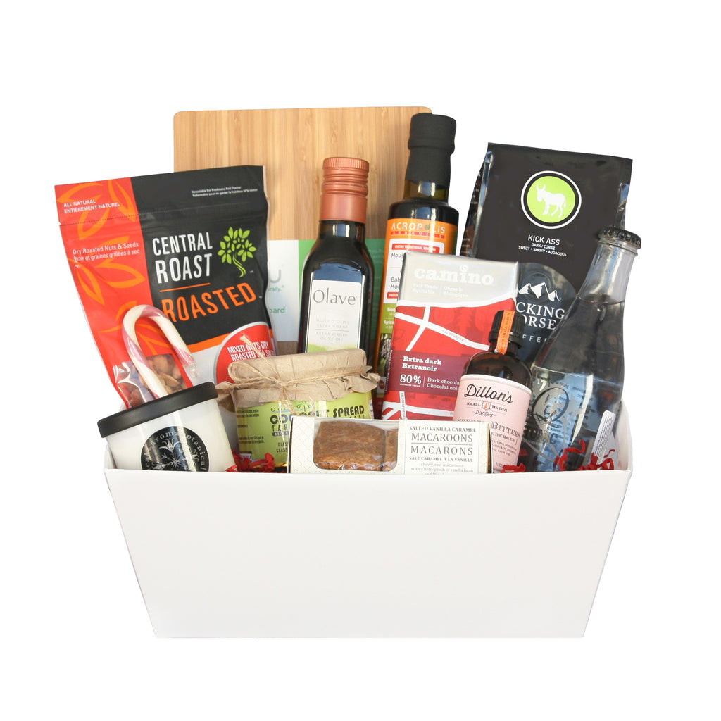 Culinary Holiday Delights Gift Basket | Jule's Baskets