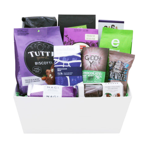 Chocolate and Coffee Lover Basket