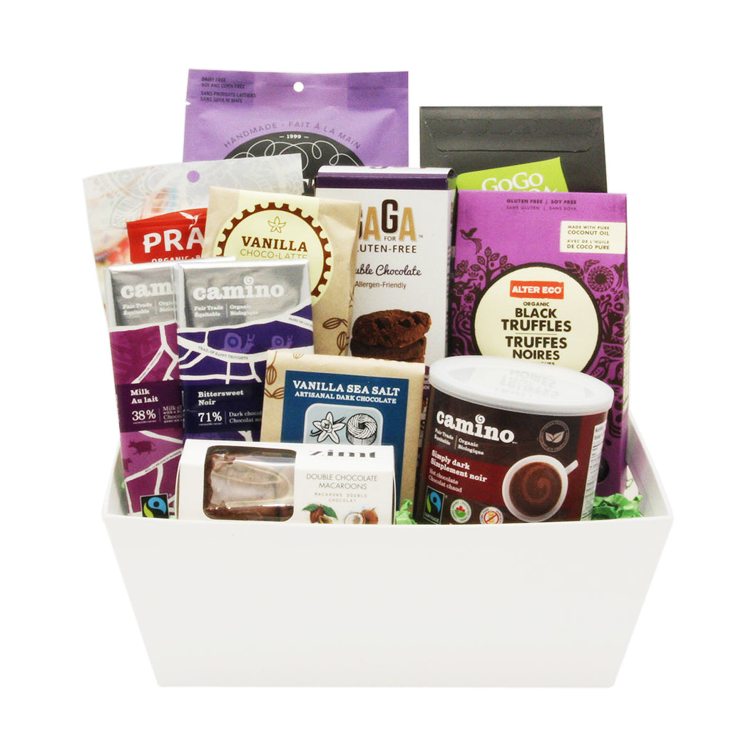 Chocolate Gift Baskets Canada Delivery
