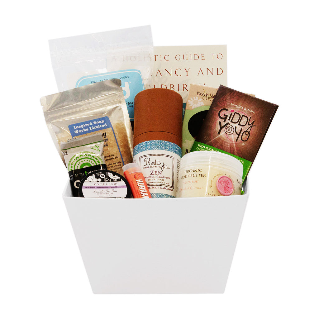 Healthy Expectant Mom Gift Baskets