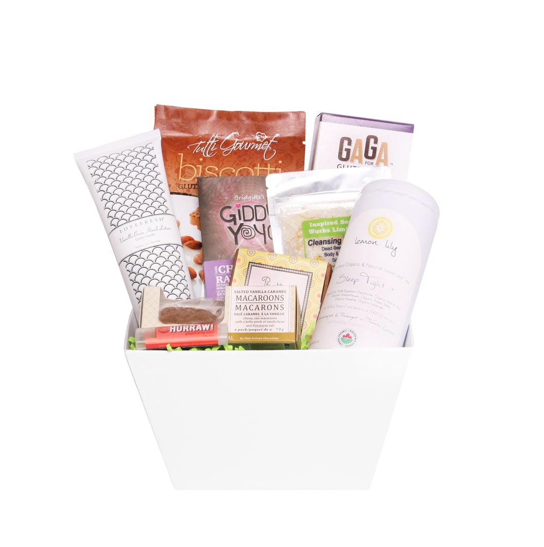 Relaxation Bliss Gift Basket