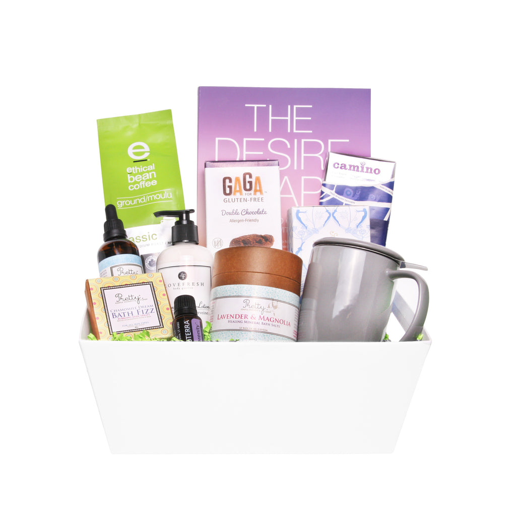 Modern Gift Baskets for Her - Zen