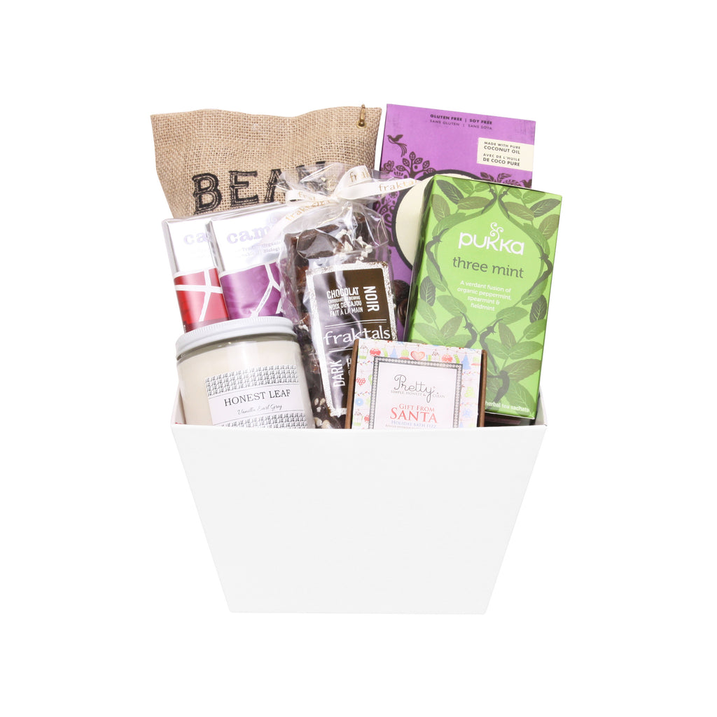 Holiday Relaxation Gift Basket