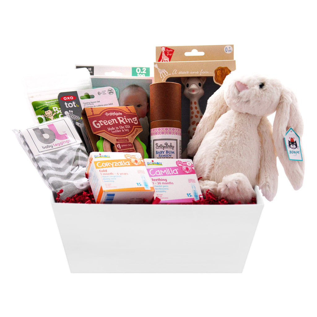 Healthy Holiday Gift Basket for Baby