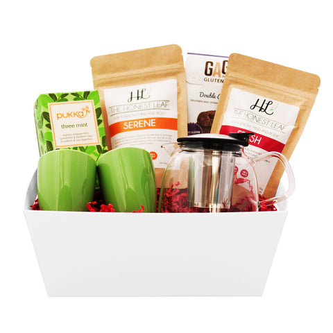 Holiday Tea Lovers Basket